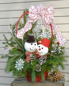 Tue Dec 8 2020 10am, Snowmen Basket, 201208101